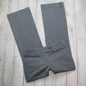 ANN TAYLOR LOFT 0P Gray Dress Pants JULIE